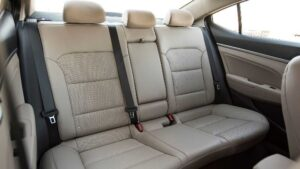 Hyundai Elantra 2019 Rear Seats