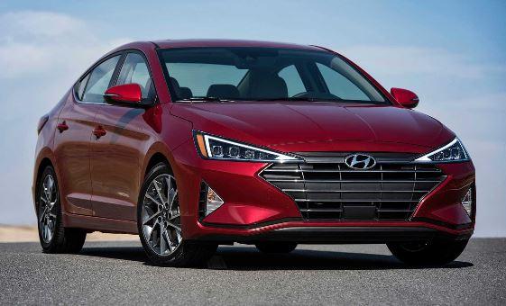 Hyundai Elantra 2019 front view