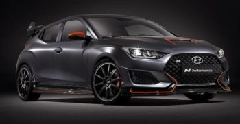 Hyundai Veloster Performance oriented Concept