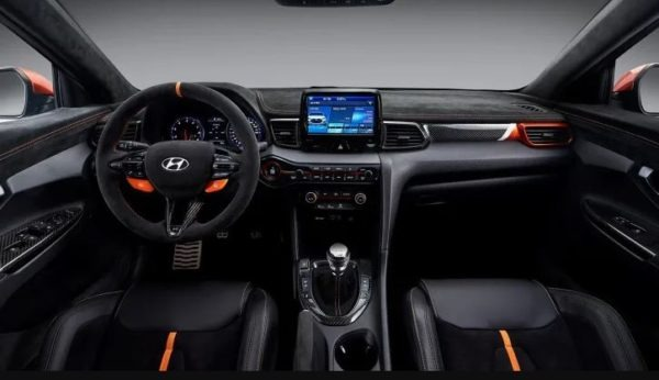 Hyundai Veloster Performance oriented Concept interior view