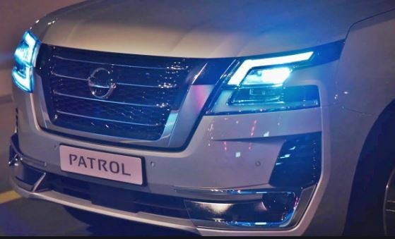 Nissan Patrol 2020 Front Grille & Headlights view