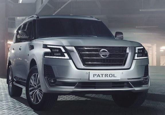 Nissan Patrol 2020 Front View