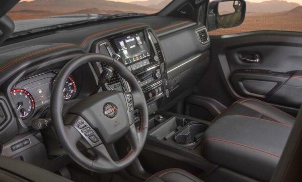 Nissan Titan 2020 Interior front cabin