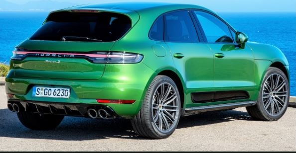 Porsche Macan 2020 Rear View