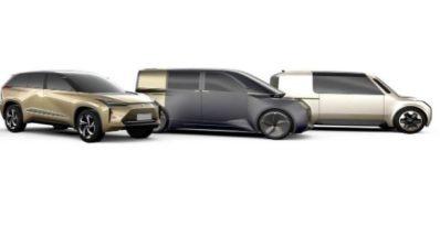 Three New EV'S by Toyota & Lexus by 2021