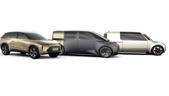 Three New EV'S by Toyota & Lexus by 2021
