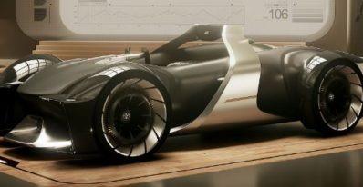 Toyota's E-Race Concept having similarity to Horse