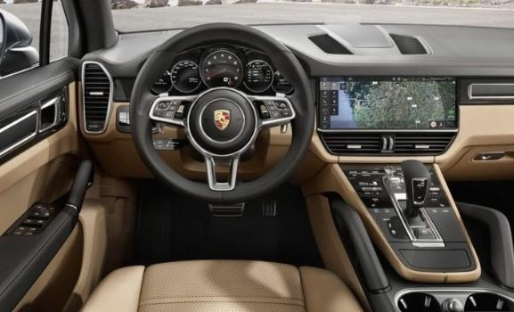 porsche macan 2020 interior view