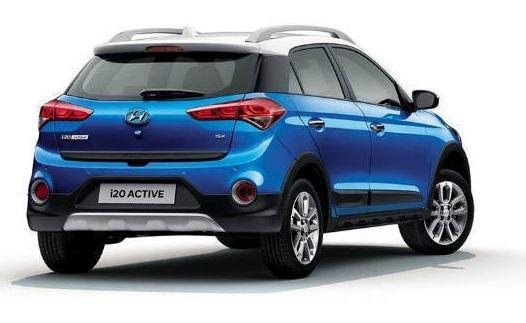 2019 Hyundai T-20 Active rear view