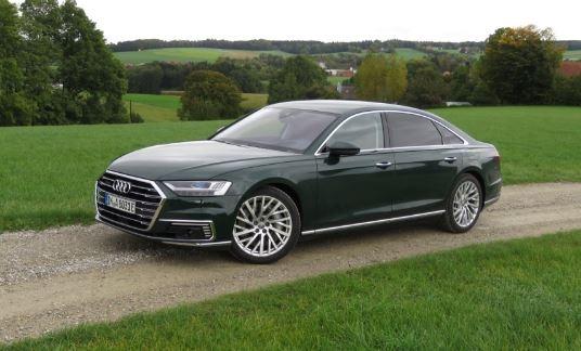 2020 Audi A8 Side View