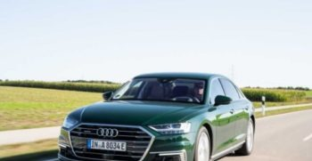 2020 Audi A8 feature Image