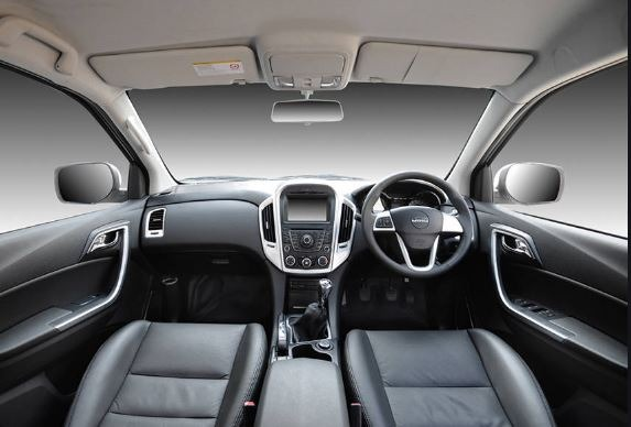 2020 JMC Vigus interior view