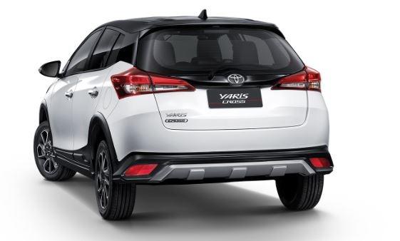 2020 Toyota Yaris Cross rear view