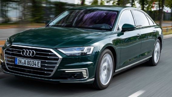 Audi A8 2020 front View