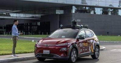 Botride Autonomous vehicle ride Hailing service by Hyundai