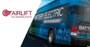 Electric Buses of Airlift in Pakistan