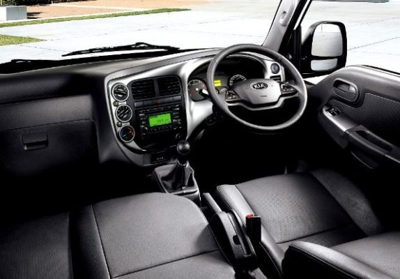 KIA frontier k2700 interior view