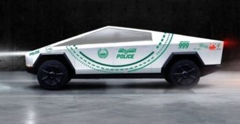 Tesla's Cyber truck is the part of Dubai Police fleet