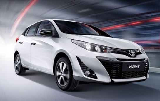 Yaris Cross 2020 front view