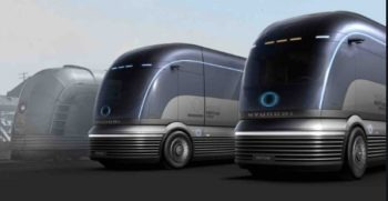 Zero Emission Semi Truck Concept by hyundai to take on Tesla
