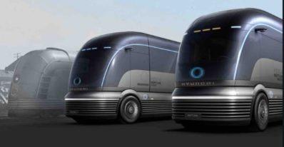 Zero Emission Semi Truck Concept by hyundai to take on Tesla