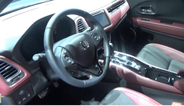 2020 Honda Vezel Front Cabin View