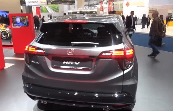 2020 Honda Vezel Rear View
