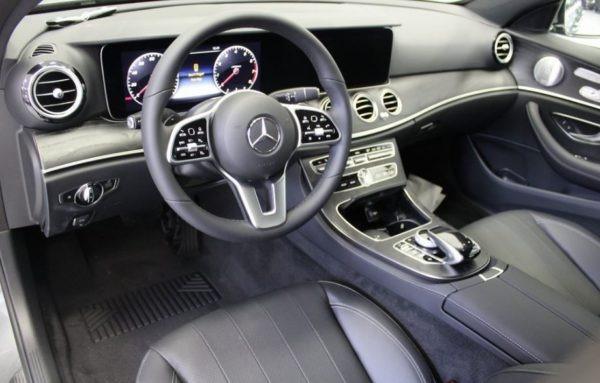 2020 Mercedes Benz E Class full front cabin view