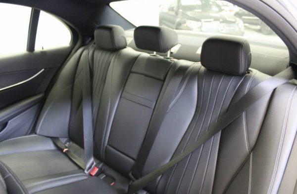 2020 Mercedes Benz E Class rear seats