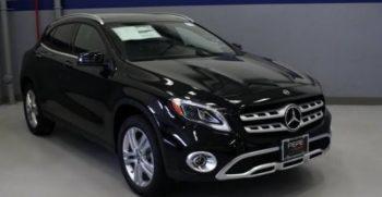2020 Mercedes Benz GLA Class feature image