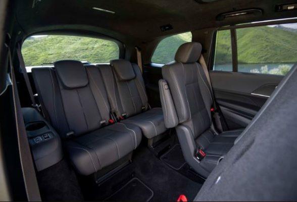 2020 Mercedes Benz GLS 3rd row seats