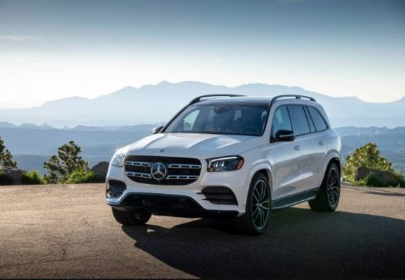 2020 Mercedes Benz GLS Front View