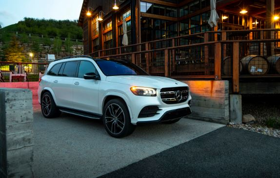 2020 Mercedes Benz GLS beatiful view