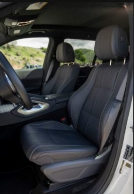 2020 Mercedes Benz GLS front seats