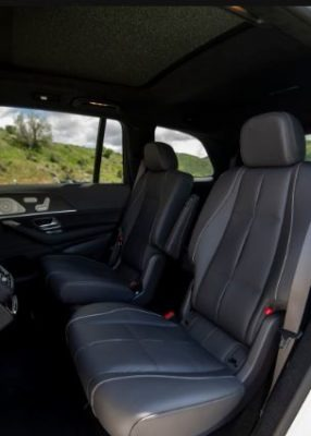 2020 Mercedes Benz GLS rear seats