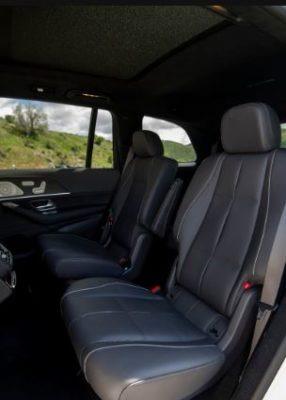 2020 Mercedes Benz GLS rear seats
