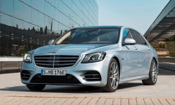 2020 Mercedes Benz S Class Front View