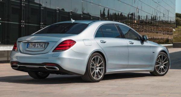 2020 Mercedes Benz S Class Rear View