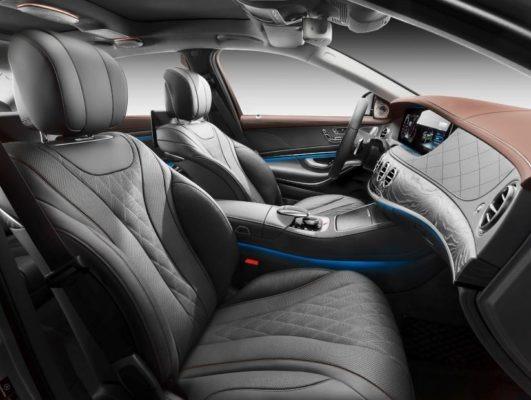 2020 Mercedes Benz S Class front Seats