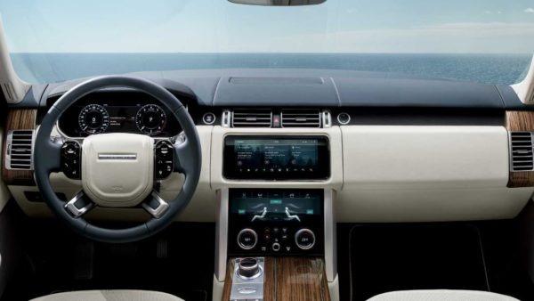 2020 Range Rover vogue interior front cabin
