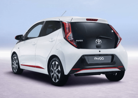 2020 Toyota Aygo Rear View