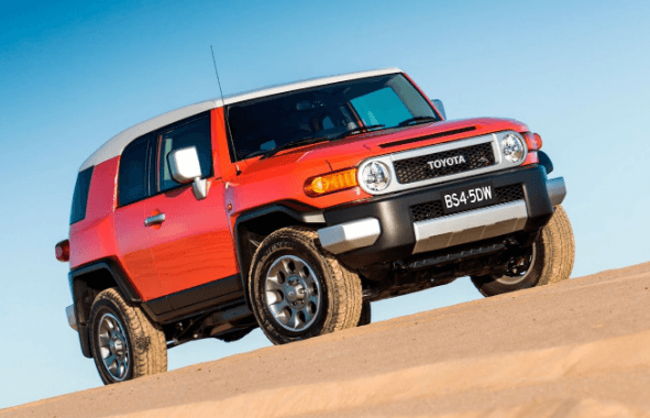 2020 Toyota FJ Cruiser Front View