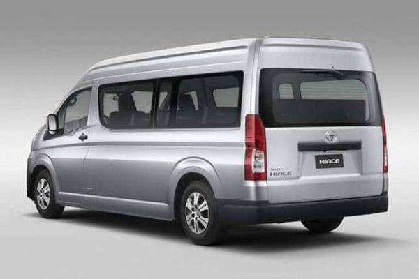 2020 Toyota Hiace Rear View