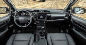 2020 Toyota Hilux Revo Interior Cabin View