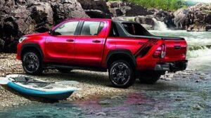 2020 Toyota Hilux Revo Rear View