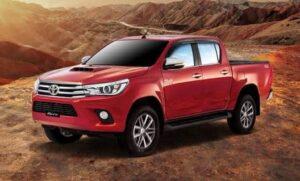 2020 Toyota Hilux Revo Side View