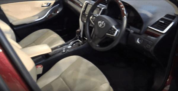 2020-Toyota-Premio-Front-Cabin-Interior-View