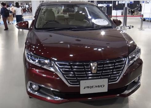 2020 Toyota Premio front View