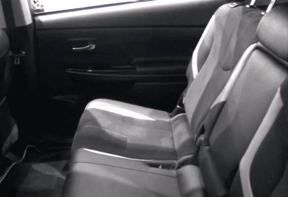 2020 Toyota Prius Alpha Rear seats