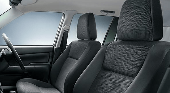 2020 Toyota Probox Hybrid seating
